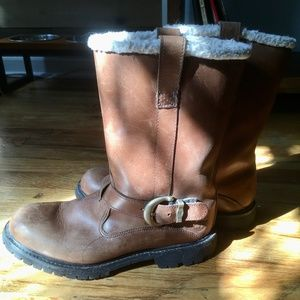 Timberland Pull-On Nellie Boots Sz 8